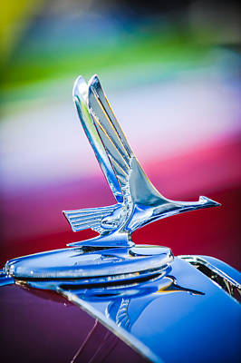 1931 Studebaker President Four Seasons Roadster Hood Ornament Poster