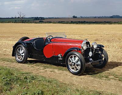 1932 Bugatti Type 55 Super Sport Poster