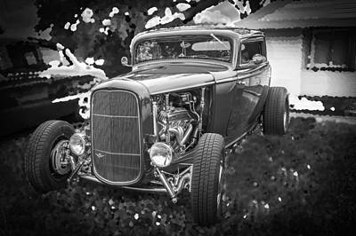 1932 Ford Coupe Bw Poster