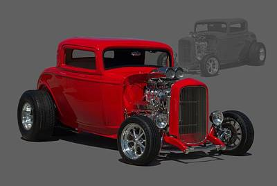 1932 Ford Coupe Poster by Tim McCullough