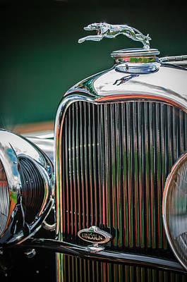 1932 Lincoln Kb Boattail Speedster Hood Ornament - Grille Emblem -0771c Poster