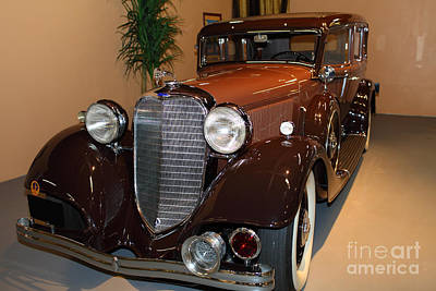 1933 Lincoln Kb Sedan 5d25719 Poster by Wingsdomain Art and Photography