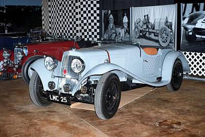 Poster featuring the photograph 1934 Aston Martin 1.5 Liter Mk. II by Boris Mordukhayev