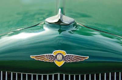 1934 Dodge Hood Ornament Emblem Poster