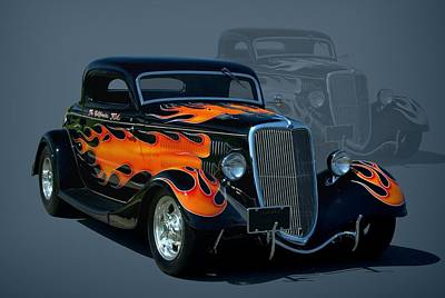 1934 Ford Hot Rod Poster