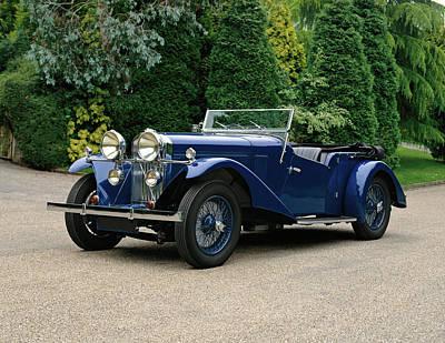 1934 Talbot 105 Vanden Plas Tourer, 3.0 Poster