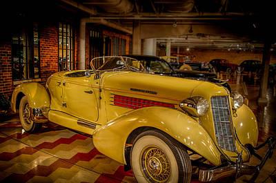 1935 Auburn 851 Speedster Supercharged Poster