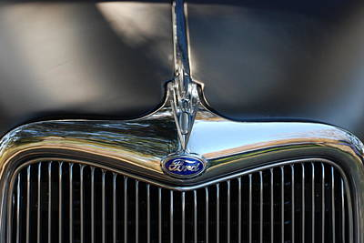 1935 Ford Grill Poster