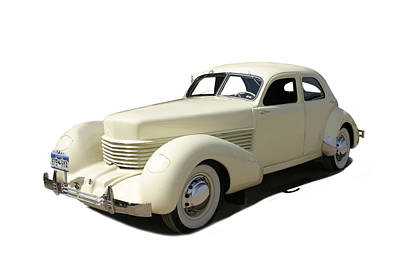 1936 Cord 810 Westchester Sedan Poster