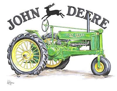1936 John Deere Poster