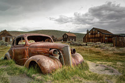 1937 Chevrolet Coupe @ Bodie Poster