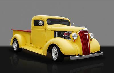 1937 Chevrolet Pickup Poster by Frank J Benz