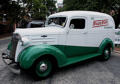 1937 Chevy Delivery Van Poster by James C Thomas