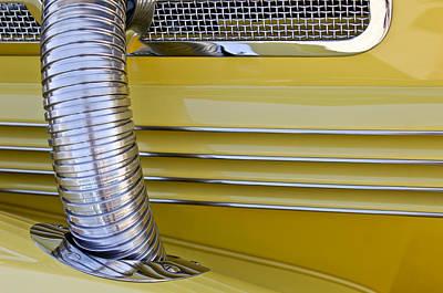 1937 Cord 812 Phaeton Hood Fender Poster