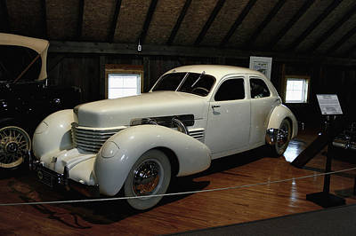 1937 Cord 812 Westchester Poster