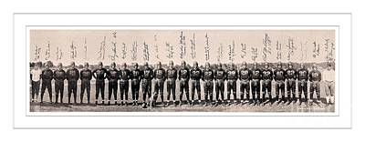 1937 Washington Redskins Team Photo Poster