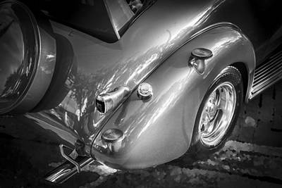 1938 Chevrolet Coupe With Rumble Seat Bw Poster