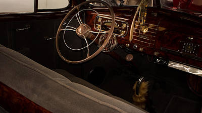 1938 Chevrolet Interior Poster
