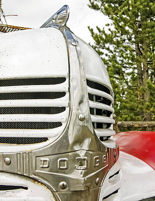 1939 Dodge Truck Grill Poster
