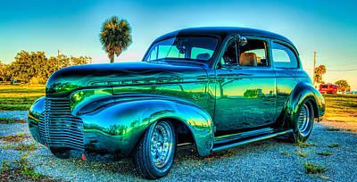 1940 Chevy Sedan Poster