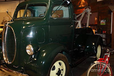 1940 Ford Cabover Tow Truck 5d25759 Poster by Wingsdomain Art and Photography
