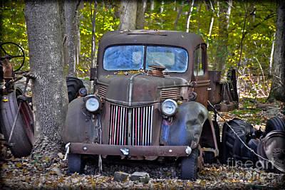 1940 Ford Dump Truck Poster