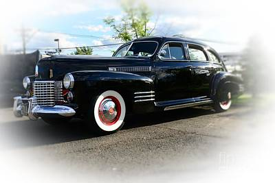 1941 Cadillac Coupe Poster by Paul Ward