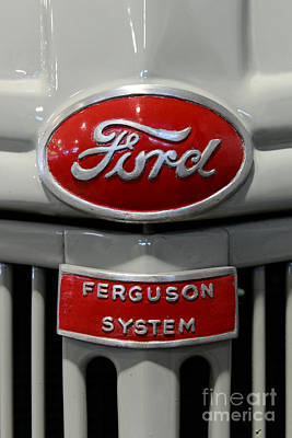 1941 Ford Tractor Ferguson System Poster by Paul Ward