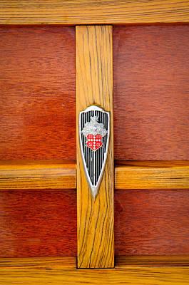 1941 Packard Woody Wagon Emblem Poster