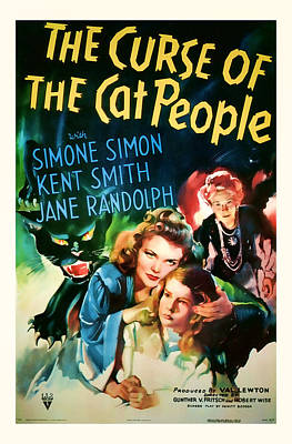 1944 The Curse Of The Cat People Vitage Movie Art Poster