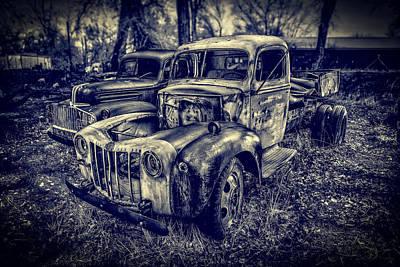 1946 Ford Pickups Poster by Yo Pedro