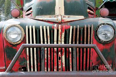 1946 Vintage Ford Truck Poster by Fiona Kennard