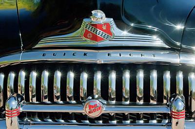 1947 Buick Sedanette Grille Poster by Jill Reger