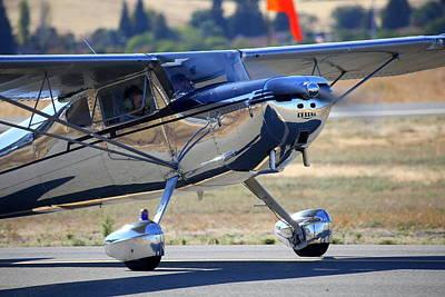 1947 Cessna 140 A Little Closer N4151n Poster