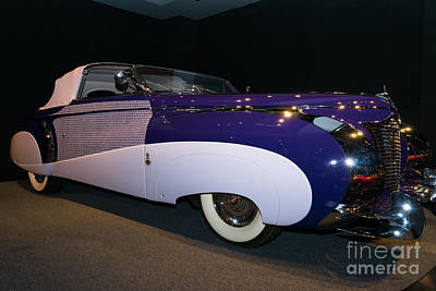 1948 Cadillac Series 62 Cabriolet Dsc2543 Poster by Wingsdomain Art and Photography