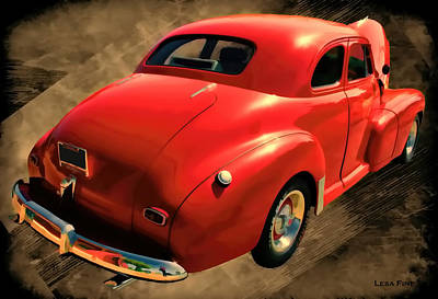 1948 Series 2100 Fk Fleetmaster Gangster Red II Poster