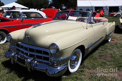 1949 Cadillac Series 62 Convertible 5d23090 Poster by Wingsdomain Art and Photography