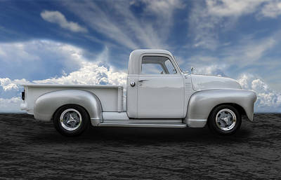 1949 Chevrolet 3100 Pickup Poster