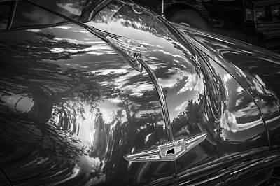 1949 Chevrolet Sedan Bw Poster