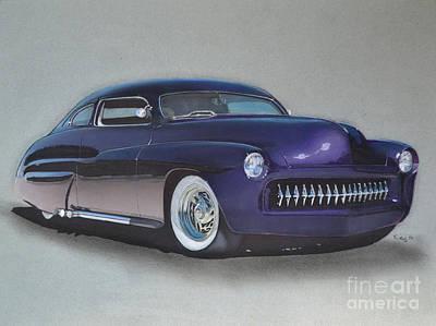 1949 Mercury Poster