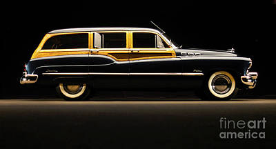 1950 Buick Estate Wagon Poster by Howard Koby