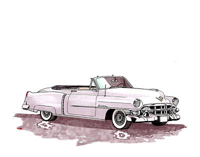 1953 Cadillac El Dorado Poster
