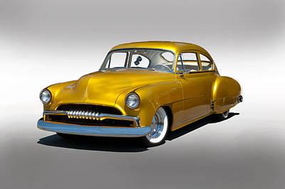 1950 Chevy Custom Fleetline Poster