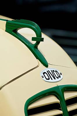 1950 Divco Milk Truck Hood Ornament Poster by Jill Reger
