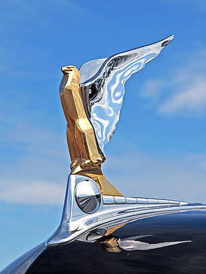 1950 Ford Hood Ornament Poster