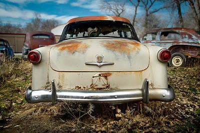 1950 Ford Sedan Rear Poster