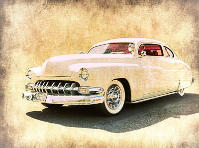 1950 Mercury Grunge Poster