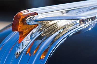 1950 Pontiac Silver Streak Hood Ornament Poster by Jill Reger
