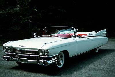 1950s 1959 El Dorado Biarritz Cadillac Poster