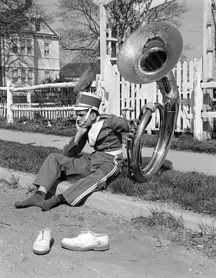 1950s 1960s Teen Boy Band Uniform & Poster